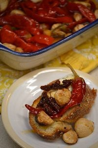 roasted garlic with peppers and sundried tomatoes feta cheese_small