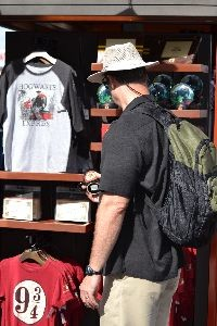 Gordon shopping for Harry Potter souvenirs_small