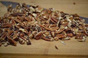 I roasted the pecans for the plantain bread_small