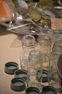 little glass jars for my bay leaves_small