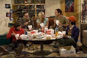 Big Bang eating take out_small