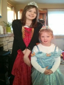 My two little Irish princesses