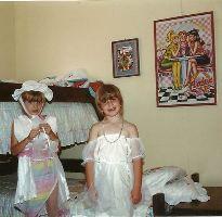 Veronica and Kara playing dress up Ewa Beach Hawaii_small