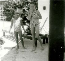 Juile and a friend in Florida_small