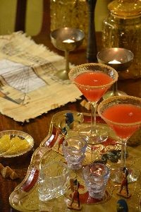 Our blood and sand cocktails and the map_small