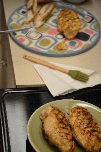 We used 4 chicken breasts_small