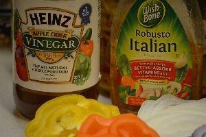 apple cider vinegar and Italian salad dressing_small