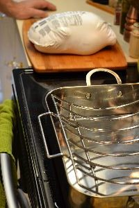 A proper baking pan for the duck_small