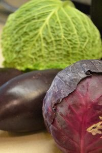 cabbage and eggplant for our timbales_small