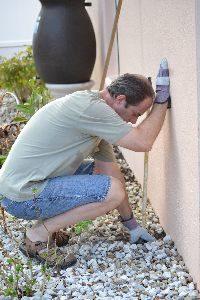 Gordon removing the sprinkler_small