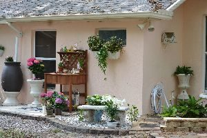 The AFTER for our potting bench landscaping photo_small