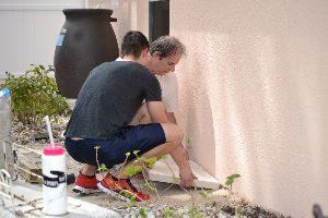 building the patio area_small
