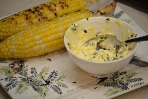 grilled corn and lemon thyme butter_small