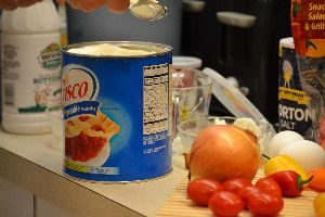 Crisco to grease the pan_small