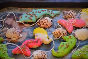 cookies on a mermaid tray_small
