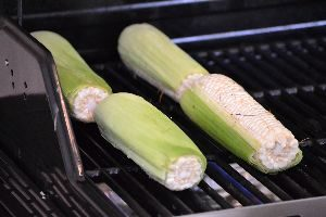 corn grilling on our grill_small