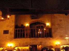 Entering the Leaky Cauldron Tavern_small