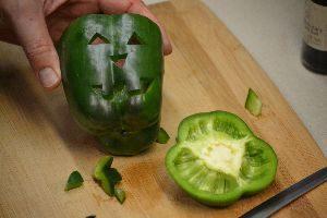 Gordon carving a green bell pepper_small
