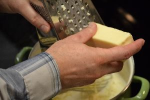 16 continue grating the cheeses_small
