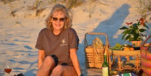 Julie on the beach in January_small