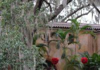 Buck House at Bok Tower Gardens at Christmas
